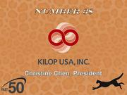 KILOP USA provides high-quality fibers, filaments and resins to the non-woven textile manufacturing industry. The High Point company had $24.6 million in 2011 revenues.