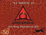 Greensboro-based Apple Rock is an event marketing company that helps clients with face-to-face programs, including strategy and design, implementation and interactive technologies.