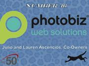 Greensboro-based PhotoBiz develops websites, online stores, blogs and other online tools.