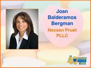 Why selected: A Nexsen Pruet PLLC lawyer dealing with land acquisitions and construction, Joan Balderamos Bergman has earned the confidence of economic developers and has worked on several major deals in the Triad and elsewhere. She serves on the board of directors for the Piedmont Triad Chapter of the NAIOP, the commercial real estate development association, and sits on the Board of Trustees for the North Carolina chapter of the National Multiple Sclerosis Society.