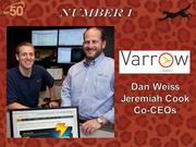 Greensboro-based Varrow provides information technology solutions for businesses, health care organizations and governments. Their 2011 revenue was $62.7 million.
