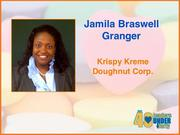 Why selected: At Krispy Kreme, Jamila Braswell Granger provides legal advice to key executives and support to internal clients on a range of legal matters related to domestic and international corporate and business issues. She has served on the boards of several nonprofit community organizations, including the High Point YMCA, YWCA and Arts Council and is active with the Krispy Kreme Women's Leadership Council.