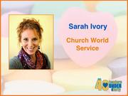 Why selected: Through her work with Church World Service, Sarah Ivory has had a significant impact in making Greensboro a welcoming community for refugees and has helped lead a diverse network of more than 300 service providers, volunteers and refugees in community planning aimed at making Greensboro a model for diversity. She also established the annual Mosaic Festival held annually in Greensboro.