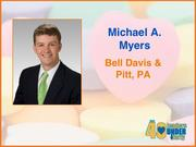Why selected: A Bell Davis & Pitt PA attorney, Michael A. Myers is active with the state bar association's efforts to update a document used in all large commercial real estate transactions in North Carolina. He also is chairman of the board for SciWorks and performs pro bono work for several nonprofits.