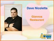 Why selected: Dave Nicoletta bought Giannos Restaurant in 2010 and has led the company through a major growth period. He is the founder of Chef's Care, an organization that partners with local nonprofits to teach local children and adults basic cooking skills and how to make healthy food decisions, and serves on the board of directors for both the Kiwanis Club of High Point and the Kernersville Little League.
