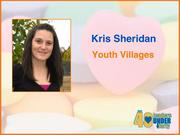 Why selected: A mentor and role model to her colleagues, Kris Sheridan directly contributes to Youth Villages' high success rate in aiding children with emotional, behavioral and mental health issues and has created training programs for the organization. She is also involved in initiatives that address trauma among children and in community outreach activities.