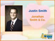 Why selected: Justin Smith has measurably contributed to client and firm successes at Jonathan Smith & Co. investment counsel. He serves on the board of directors for the Society of Financial Service Professionals, where he's helped to recruit other young professionals. One of the youngest members ever inducted into the Crescent Rotary Club, he also mentors college students as a Young Life college leader.