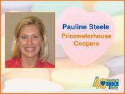 Why selected:  Pauline Steele leads PricewaterhouseCoopers's UNC-Greensboro recruiting team and mentors students. She co-chaired PwC Greensboro's 2011 Day of Service, which energized a Relay for Life fundraiser that generated more than $10,000 in honor of a colleague who died from cancer.