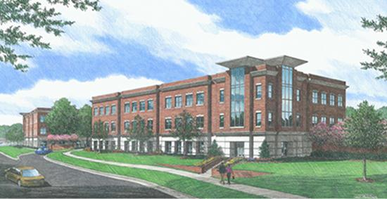 Wake Forest Baptist Medical Center will open the first of two medical office buildings at its new Clemmons campus later this month.