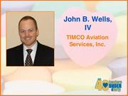 Why selected: John B. Wells IV has successfully implemented unique and unconventional solutions to support the businesses of TIMCO Aviation Services Inc. He is actively involved in Bridges of Hope, a community effort to support a local man with leukemia and is a long-time supporter of the Electronic Frontier Foundation, an international, nonprofit digital rights advocacy group.