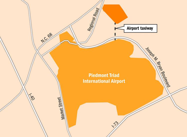 Seven contractor teams are vying for a $144 million of infrastructure work that will help provide a taxiway to open up land near PTI for sites that could accommodate tenants such as aviation contractors.