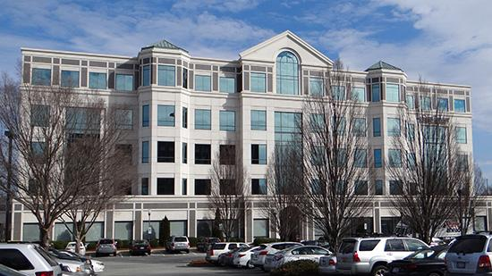 Tenants at the 628 Green Valley Road building purchased by Highwoods include SunTrust Bank, The Fresh Market Inc.'s corporate headquarters and Sona MedSpa.