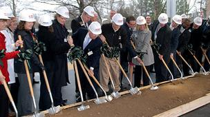 Alamance Regional Medical Center broke ground Tuesday on a $60 million expansion.