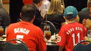 Fans of Hall of Fame baseball star Johnny Bench turned out Tuesday for the All-Star Luncheon before the California-Carolina League All-Star Game at BB&T Ballpark in Winston-Salem.