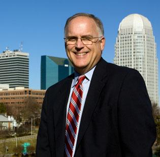 Bob Leak, president of Winston-Salem Business Inc.