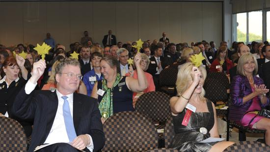 The CFO of the Year event honored 17 Triad CFOs for outstanding work.