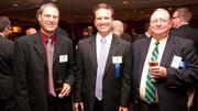 From left to right: Roy Cox of Best Services Group, Ronald Rogers of L.J. Rogers Inc., and Mike Herman of Best Services Group. Both companies were among the Fast 50.
