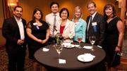From left to right, Hani Kattan and Niveen Kataan of Atlantic Contracting Company Inc.; Ted Chen, Christine Chen and Kristin Hotz of Kilop USA Inc., and Ken Fearn and Sarah Fearn of Advanced Battery Technologies Inc. All three companies were ranked in the Fast 50.