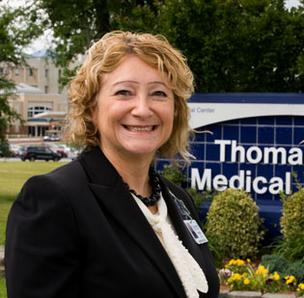 Kathie Johnson, president of Thomasville Medical Center