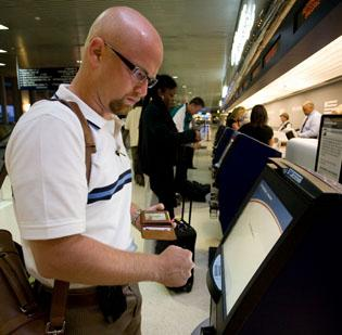 Flight delays nationwide due to Federal Aviation Administration furloughs have not affected Piedmont Triad International Airport, at least not yet.