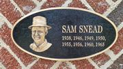 Sam Snead won the first Greater Greensboro Open in 1938 and then seven titles after that. No other PGA pro golfer in history won more titles in a single event.