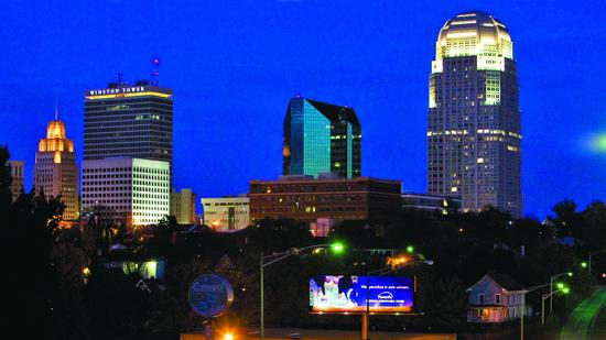 Winston-Salem is now the fifth-largest city in North Carolina.