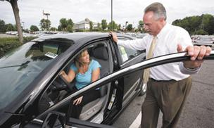Car sales are up for the second quarter in the Triad.