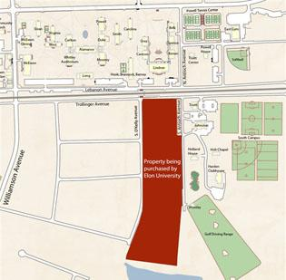 Elon University to buy property for South Campus expansion - Triad ...