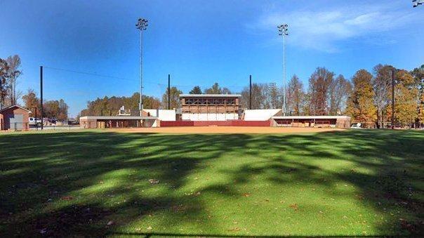 BB&T Field at Elon University's new Hunt Softball Park.