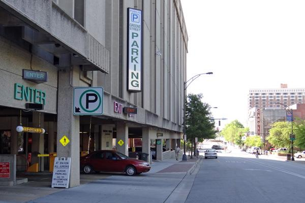 Greensboro will begin charging for parking after hours at its four downtown parking decks.