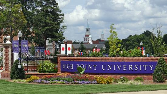High Point University has received a $2 million donation.