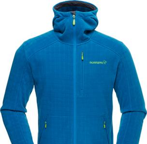 Unifi's Repreve fabric was used by Polartec and Norwegian-based Norrøna to create recycled fleece jacket.