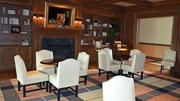 Inside the clubhouse, the Red Fox Lounge has gotten a total makeover.