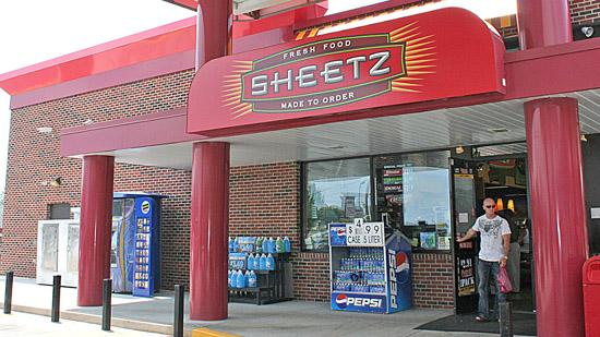 Sheetz has chosen Burlington as the site for a new $32 million distribution and production center.