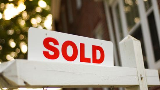Fewer homes were sold this December when compared to 2010.