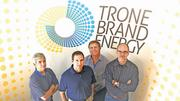 No. 2 - Trone Brand Energy in High Point. The firm has 65 employees and Doug Barton is the top local executive. Barton is pictured second from right with other Trone executives.