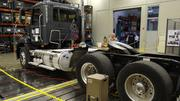 A testing room will simulate the types of pressure that vehicles face on the road, such as bumpy roads.