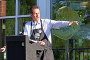 """Scott Allshouse, regional president with Whole Foods, said the Greensboro store is the 23rd in the South region. """"We fell in love with this spot and this community,"""" he said."""