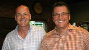 No. 3 - Wildfire in Winston-Salem. The firm has 64 employees and the top executives are Mike Grice, left, and Brad Bennett.