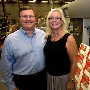 Michael and Mary Drummond, owners of Packrite LLC