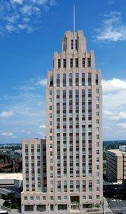 The vacant R.J. Reynolds Building in Winston-Salem.