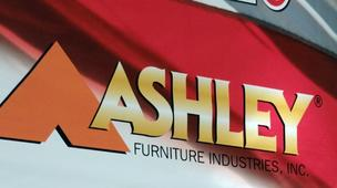 Construction of Ashley Furniture Industries Inc.'s planned $80 million manufacturing and distribution center has been delayed by at least a year due to the discovery of four acres of wetlands.