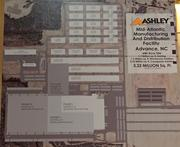 A map of what the Ashley Furniture facility in Davie County will look like.