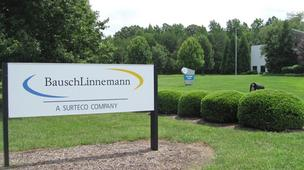 BauschLinnemann North America will close its Greensboro factory and headquarters.