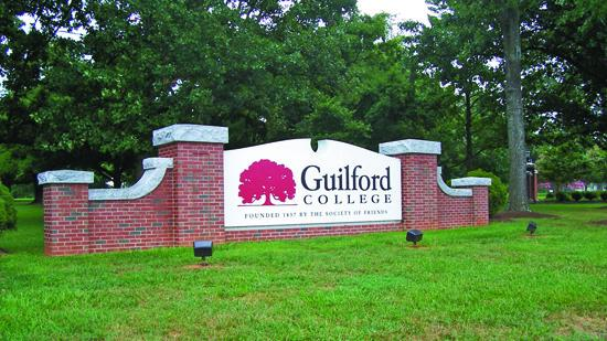 Guilford College has renovated its central student building.