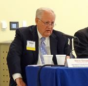 Steve Googe, president of the Davidson County Economic Development Commission, was one of the panelists at The Business Journal's State of Davidson panel discussion Thursday.