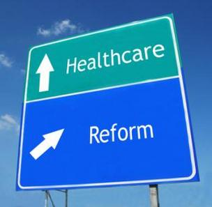 Health care reform signs
