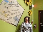 Rhonda Fuller is co-owner of Crafted, one of the more recent additions to downtown Greensboro's restaurant selections.