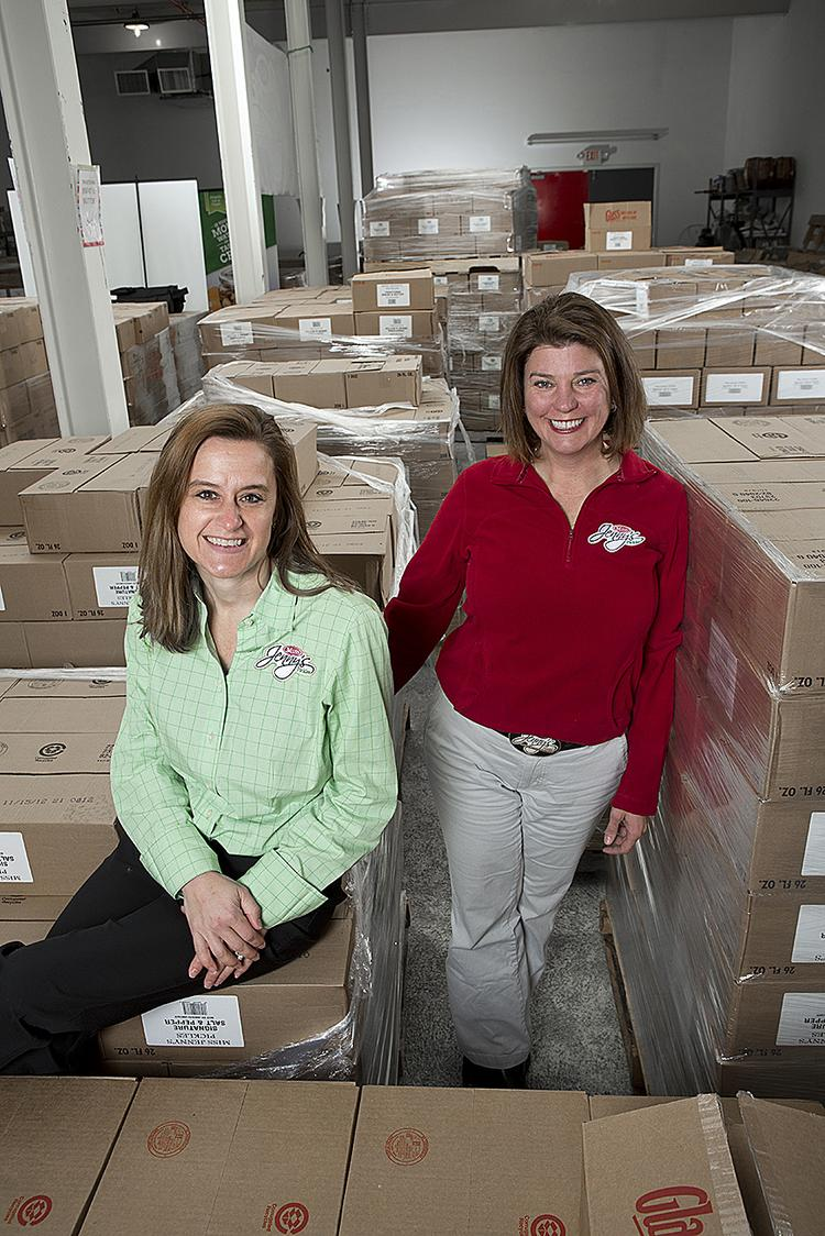 Ashlee Furr and Jenny Fulton of Miss Jenny's Pickles are busier than ever.