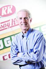 CEO has Krispy Kreme Doughnuts heating up